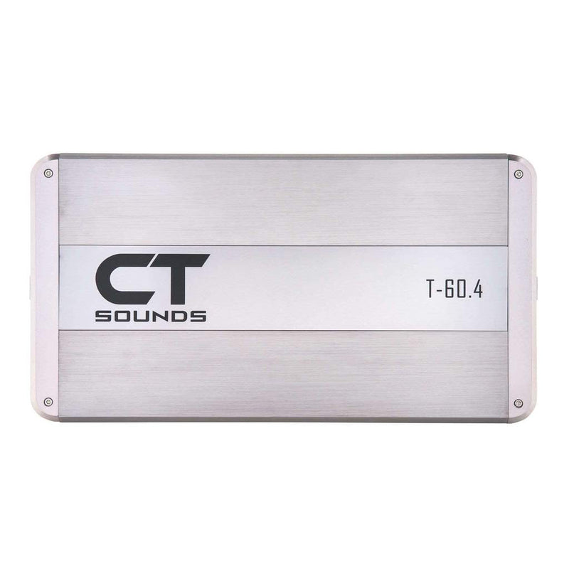 T-60.4AB // 320 Watts RMS 4-Channel Car Audio Amplifier Amplifiers- CT Sounds Car Audio