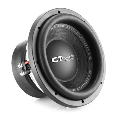 TROPO-10-D4 // 650 Watts RMS 10 Inch Car Subwoofer - CT SOUNDS