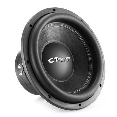 TROPO-12-D4 // 650 Watts RMS 12 Inch Car Subwoofer - CT SOUNDS