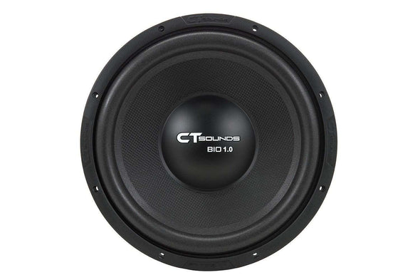 Bio 1.0 12 Inch Car Audio Subwoofer Single 4 Ohm Sub (S4) - CT SOUNDS