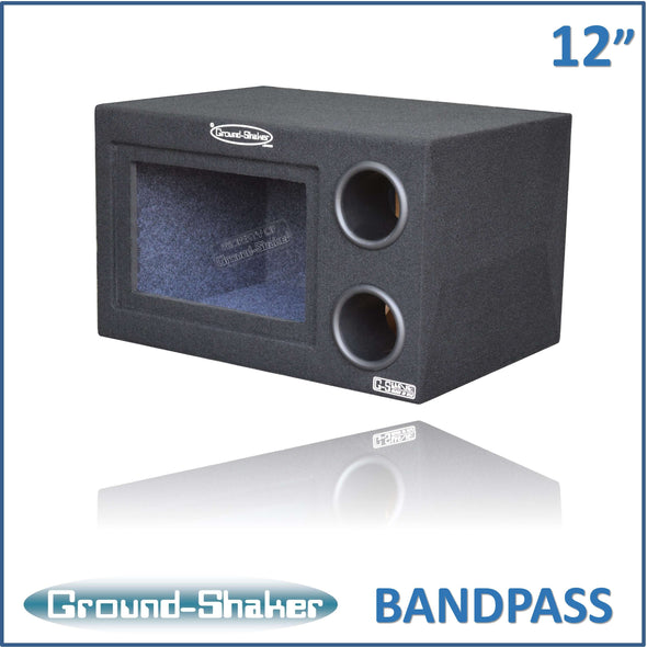 12 Inch Aero Port Bandpass Box 12 Inch Subwoofer Box- CT Sounds Car Audio