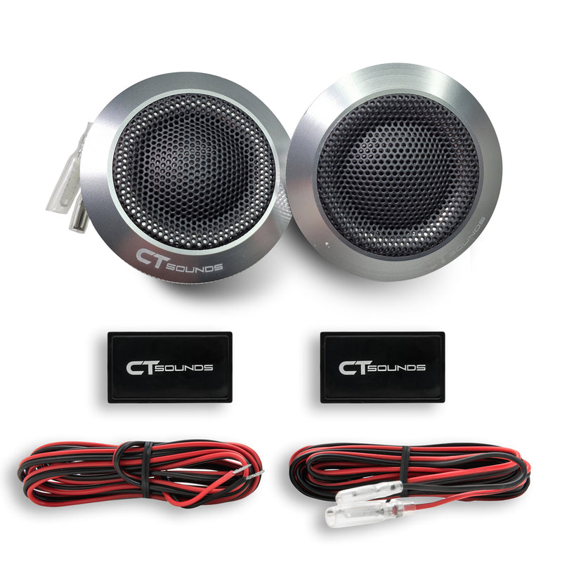 Product Return || Meso 25mm Silk Dome Tweeters (Brand New - Working) 06 Tweeters- CT Sounds Car Audio