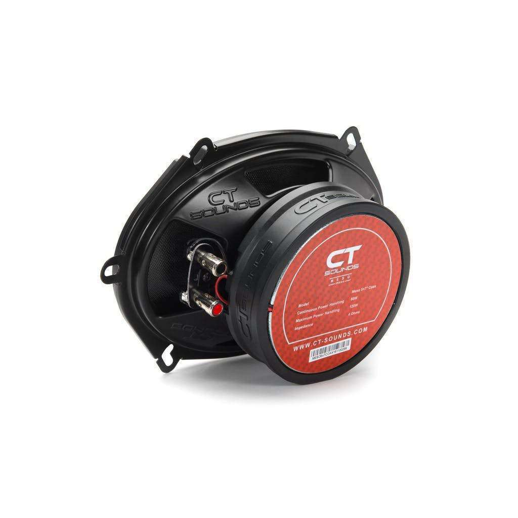 CT Sounds | Meso 5x7 Inch Coax Car Speakers (Pair)
