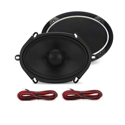 Meso 5x7 Inch Coax Car Speakers (Pair) - CT SOUNDS