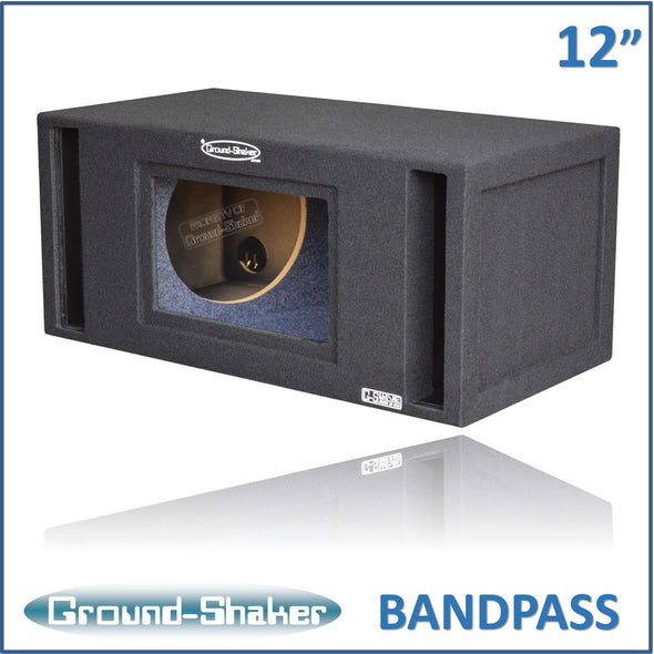 Dual 12 Inch Bandpass Box 12 Inch Subwoofer Box- CT Sounds Car Audio