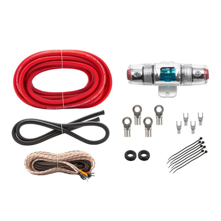 CT Sounds 8GA Ref Amp Kit Wiring- CT Sounds Car Audio