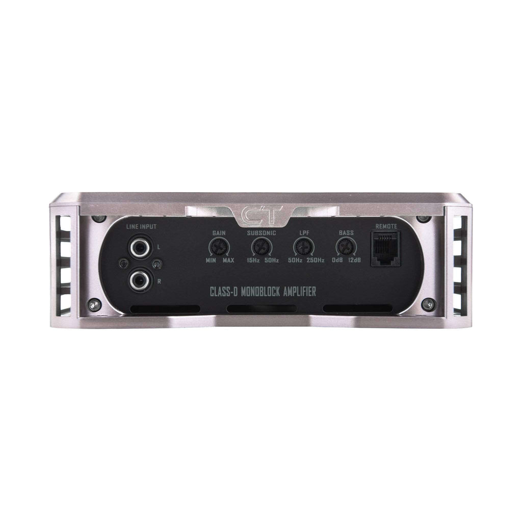 T-1000.1D Amplifier Amplifiers- CT Sounds Car Audio