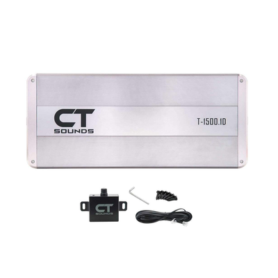 T-1500.1D Amplifier Amplifiers- CT Sounds Car Audio