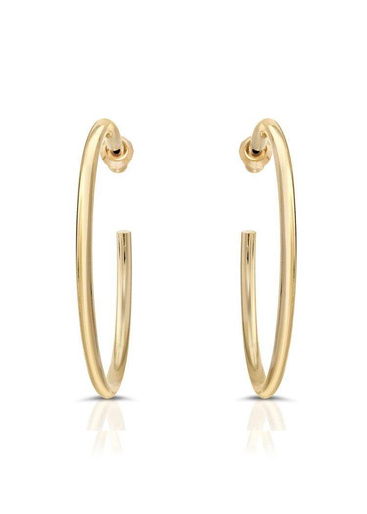 "Eklexic 2.0"" Ultimate Hoops- Gold-Hand In Pocket"