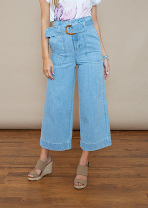 Bishop and Young Boheme Culotte Pant-Hand In Pocket