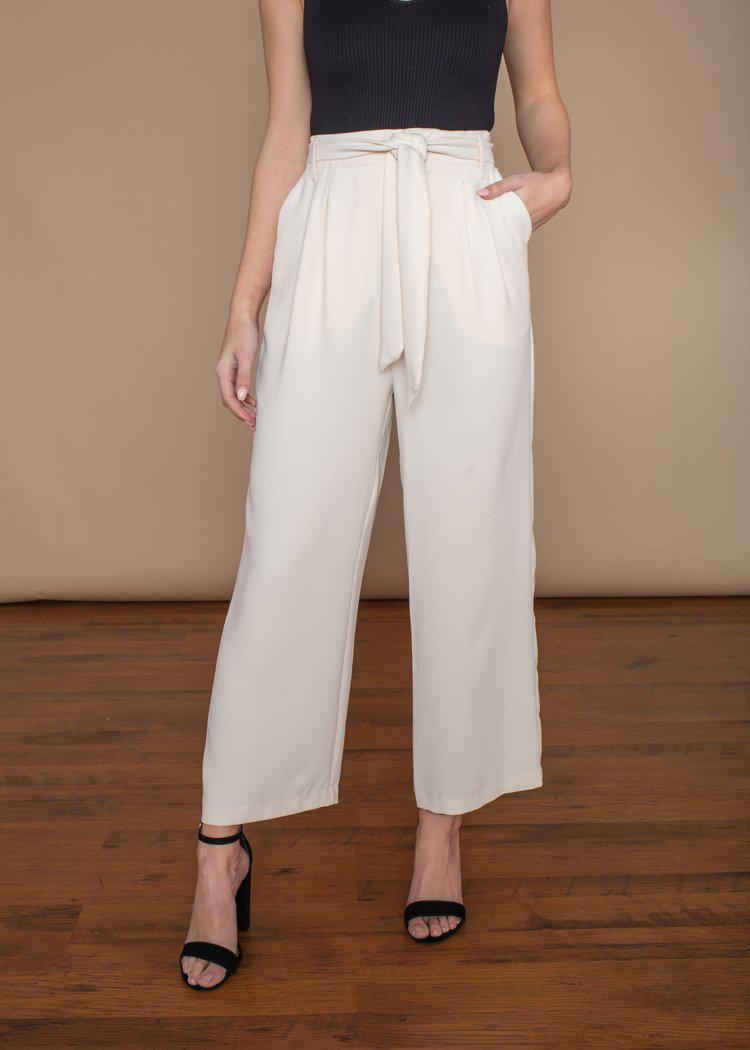 BB Dakota Go With The Flow Cropped Pants-***FINAL SALE***-Hand In Pocket
