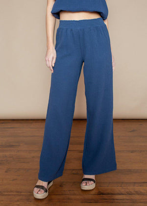 Bobi Cotton Beach Pant-Coast-***FINAL SALE***-Hand In Pocket