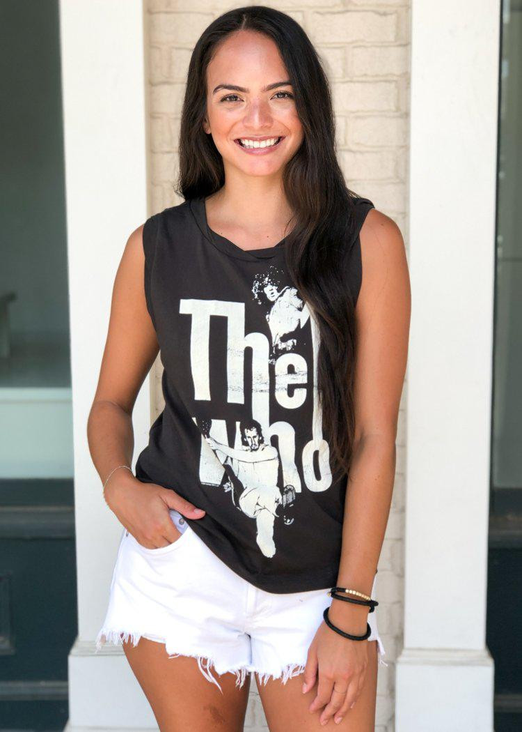 Chaser The Who Cotton Muscle Tank - ***FINAL SALE***-Hand In Pocket