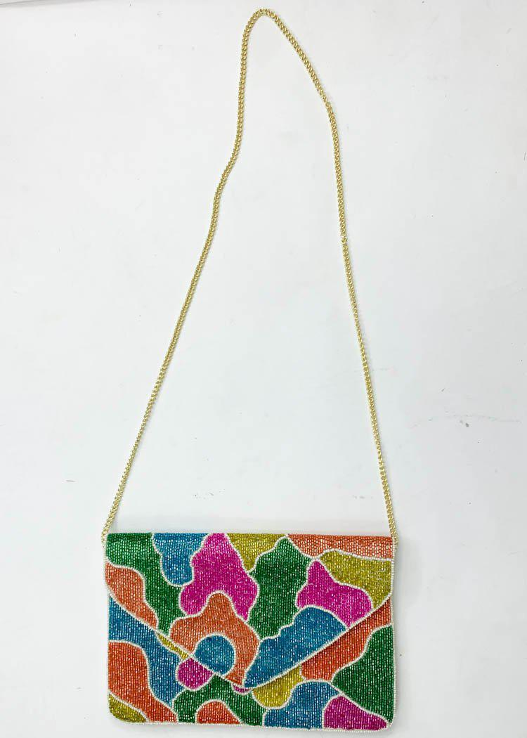 Malang Beaded Clutch-Hand In Pocket