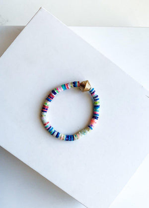 Multi-Colored Montego Bay Bracelet-Hand In Pocket