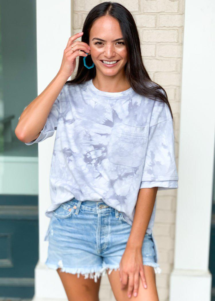 Karlie Eddy Tie Dye Sweatshirt-Hand In Pocket