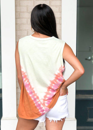 Indio Tie Dye Muscle Tank ***FINAL SALE***-Hand In Pocket