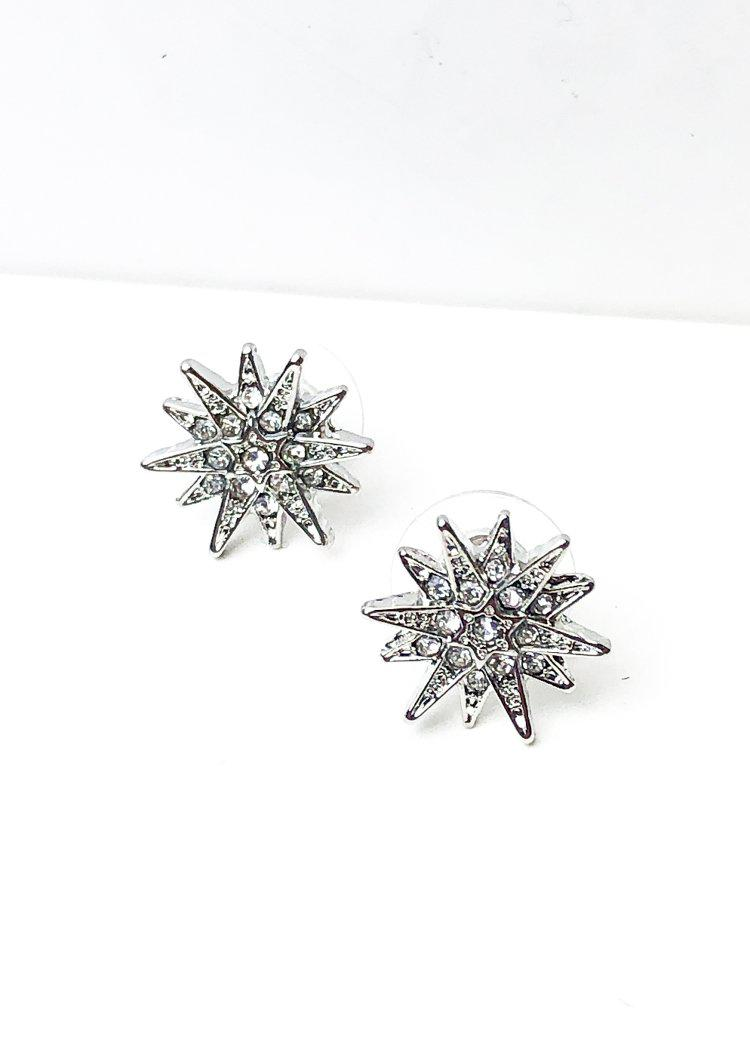 Celestial Studs - Silver-Hand In Pocket