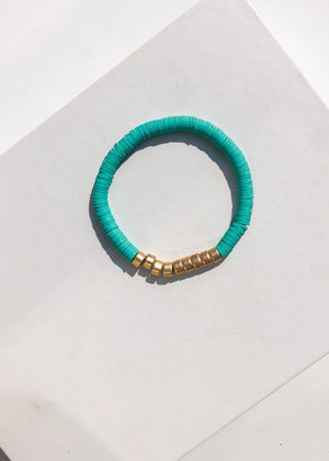 Medocino Stretch Beaded Bracelet Set of 3 - Turquoise-Hand In Pocket