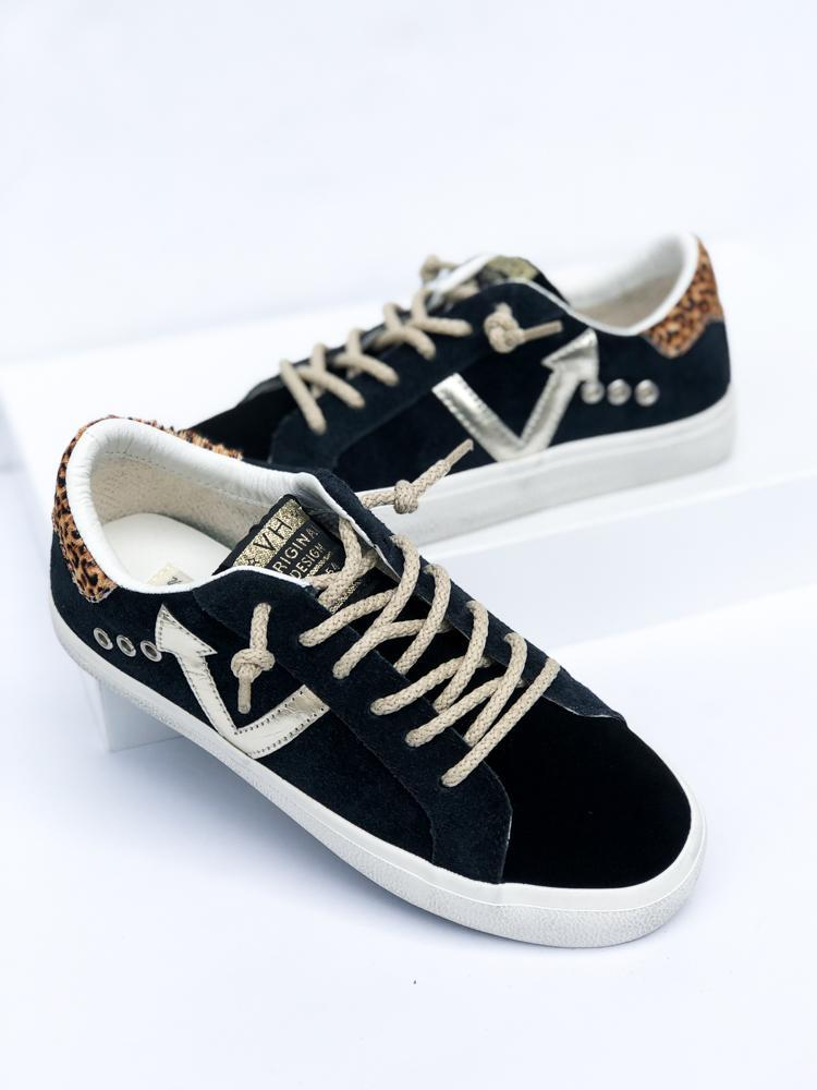 Vintage Havana Lockwood Sneaker - Black-Hand In Pocket