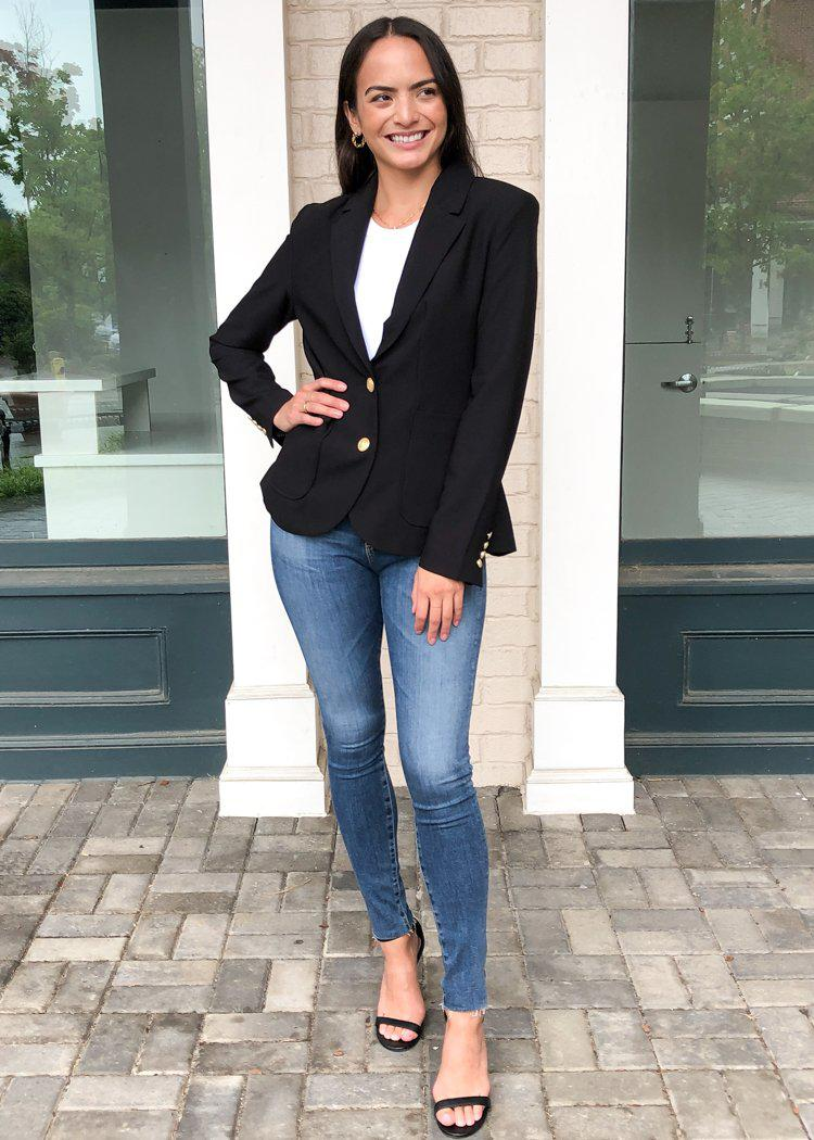 BB Dakota Inside Scoop Blazer-Hand In Pocket