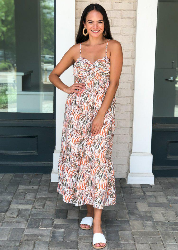 THML Fire Island Maxi-***FINAL SALE***-Hand In Pocket