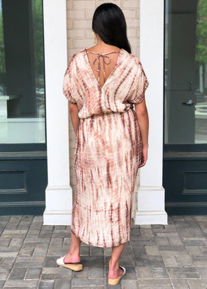 Anacapa Tie Dye Caftan ***FINAL SALE***-Hand In Pocket