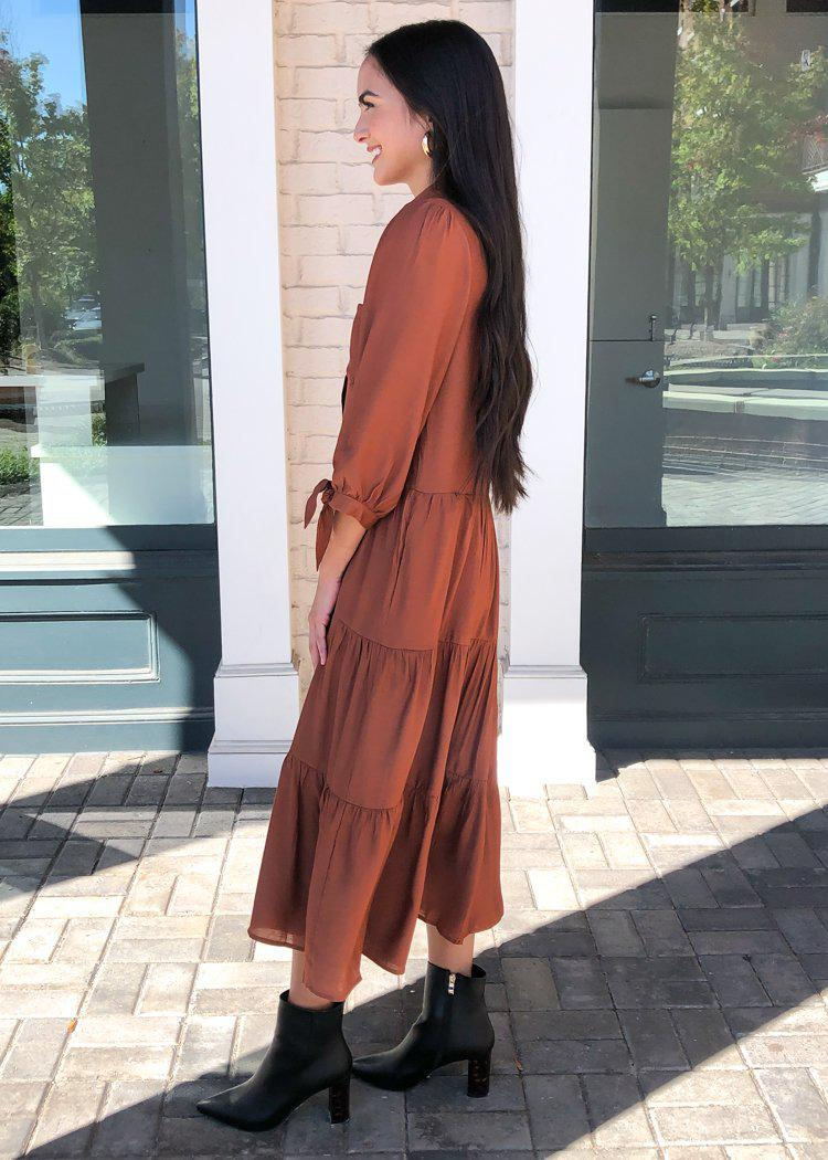 Andirra Maxi Dress-Hand In Pocket