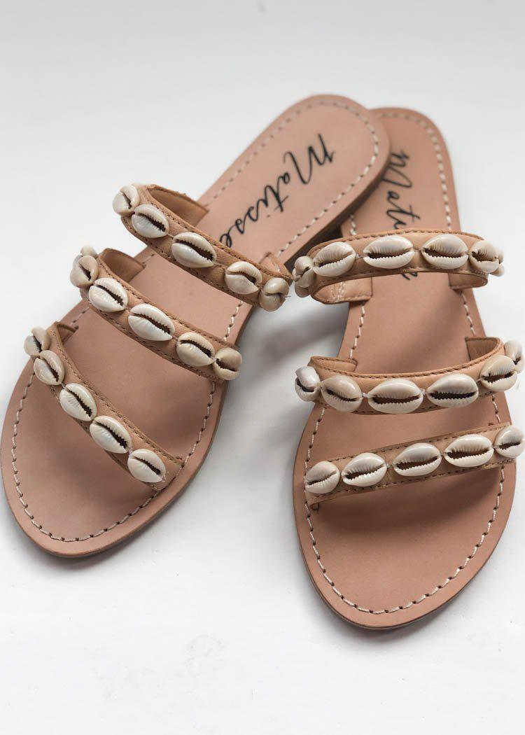 Matisse Resort Puka Shell Sandal-Hand In Pocket