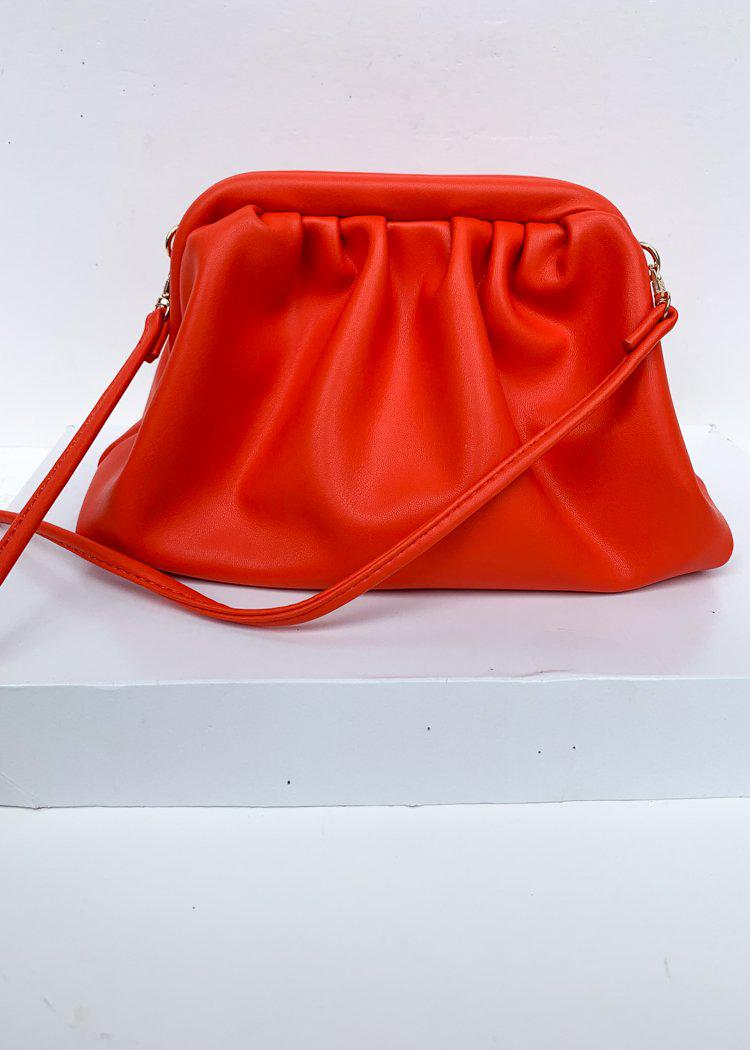 Urban Expressions Mable Slouchy Clementine Pouch Crossbody-***FINAL SALE***-Hand In Pocket