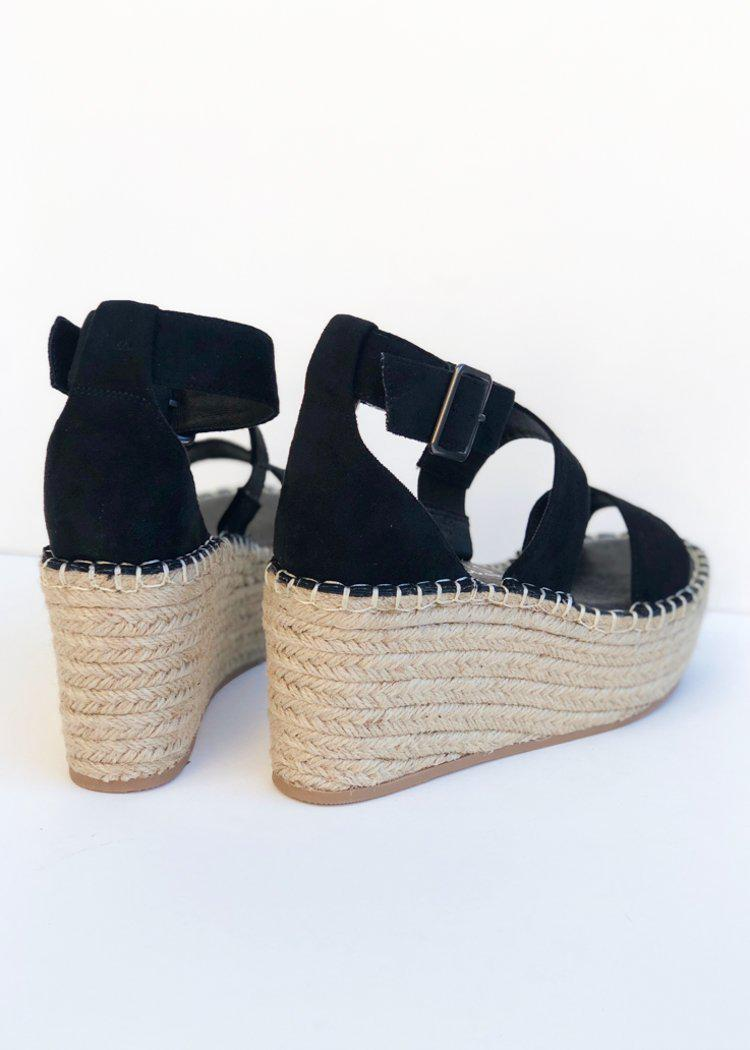 Matisse Soire Platform Wedge-Black ***FINAL SALE***-Hand In Pocket