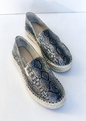 Matisse Peaches Natural Snake Espadrille-***FINAL SALE***-Hand In Pocket