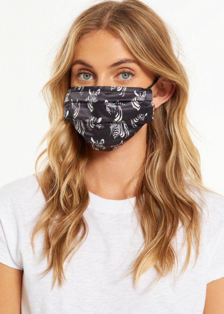 Z Supply Safari Mask 4 Pack - Black-Hand In Pocket