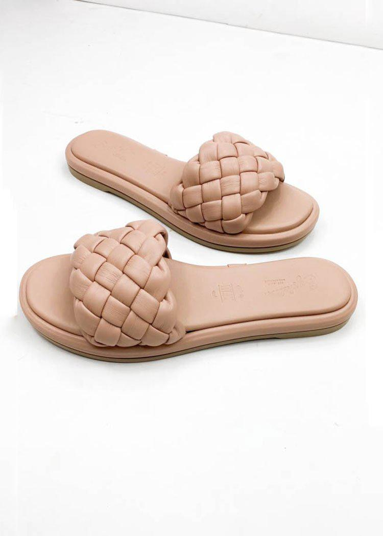 Seychelles Bellissima Puffy Woven Slide Sandal ***PREORDER***-Hand In Pocket