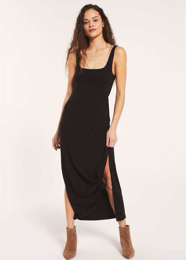 Z Supply Ashton Sleek Jersey Maxi Dress-***FINAL SALE***-Hand In Pocket