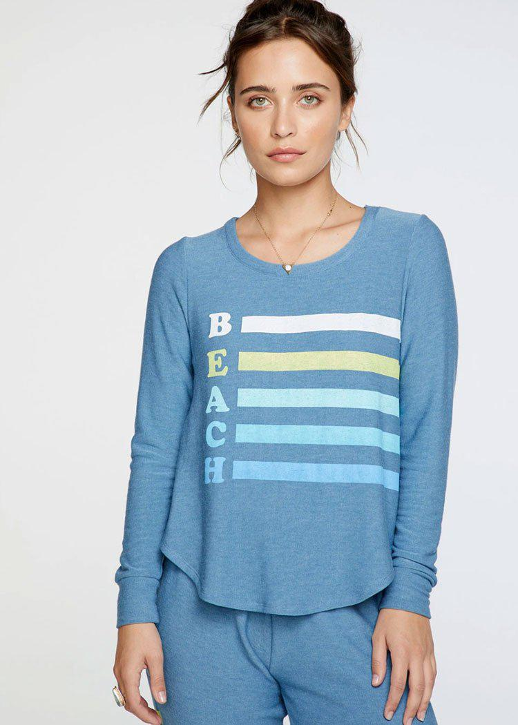 Chaser Beach Day Pullover-Hand In Pocket