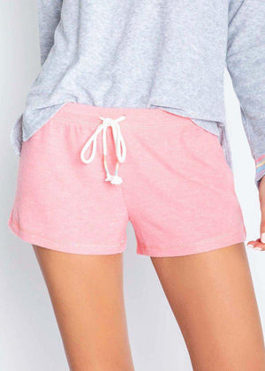 PJ Salvage Essential Short- Coral-Hand In Pocket