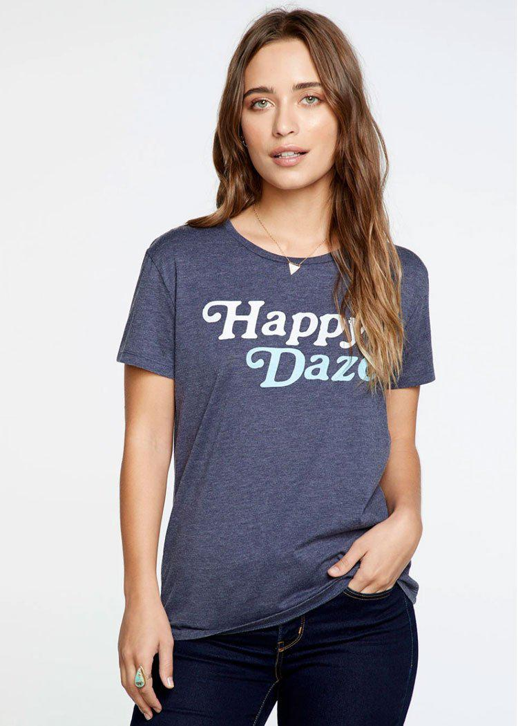 Chaser Happy Daze Crew Neck Tee-***PREORDER***-Hand In Pocket