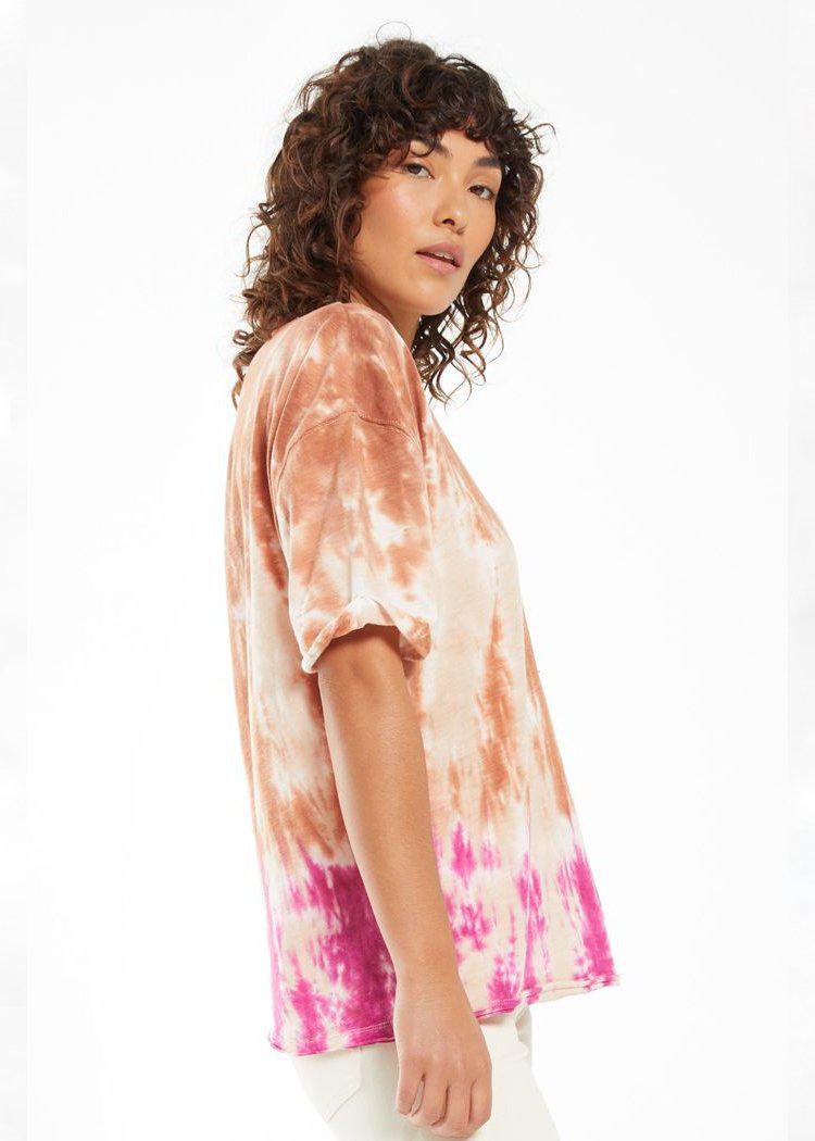 Z Supply June Sorbet Skies Tie Dye Tee ***PREORDER***-Hand In Pocket