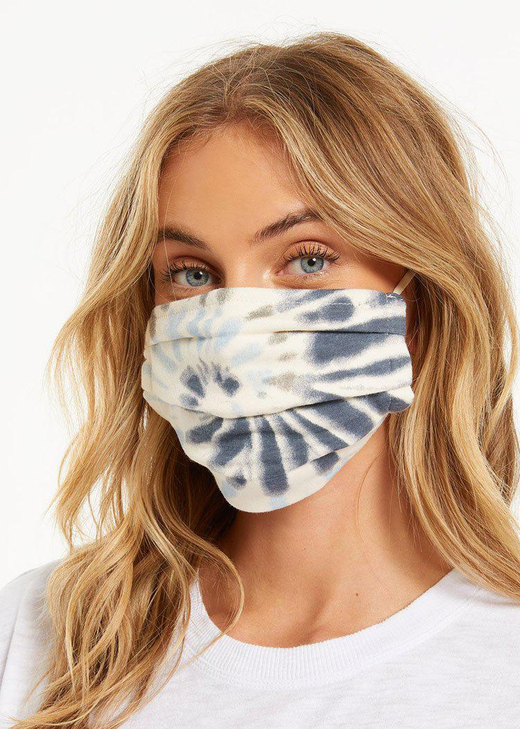 Z Supply Tie-Dye Mask 4 Pack- Tie Dye-Hand In Pocket