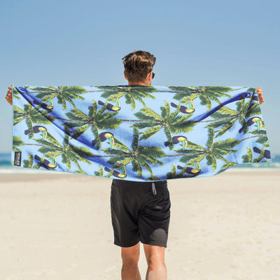 Tesalate - If The Toucan-Can Beach Towel