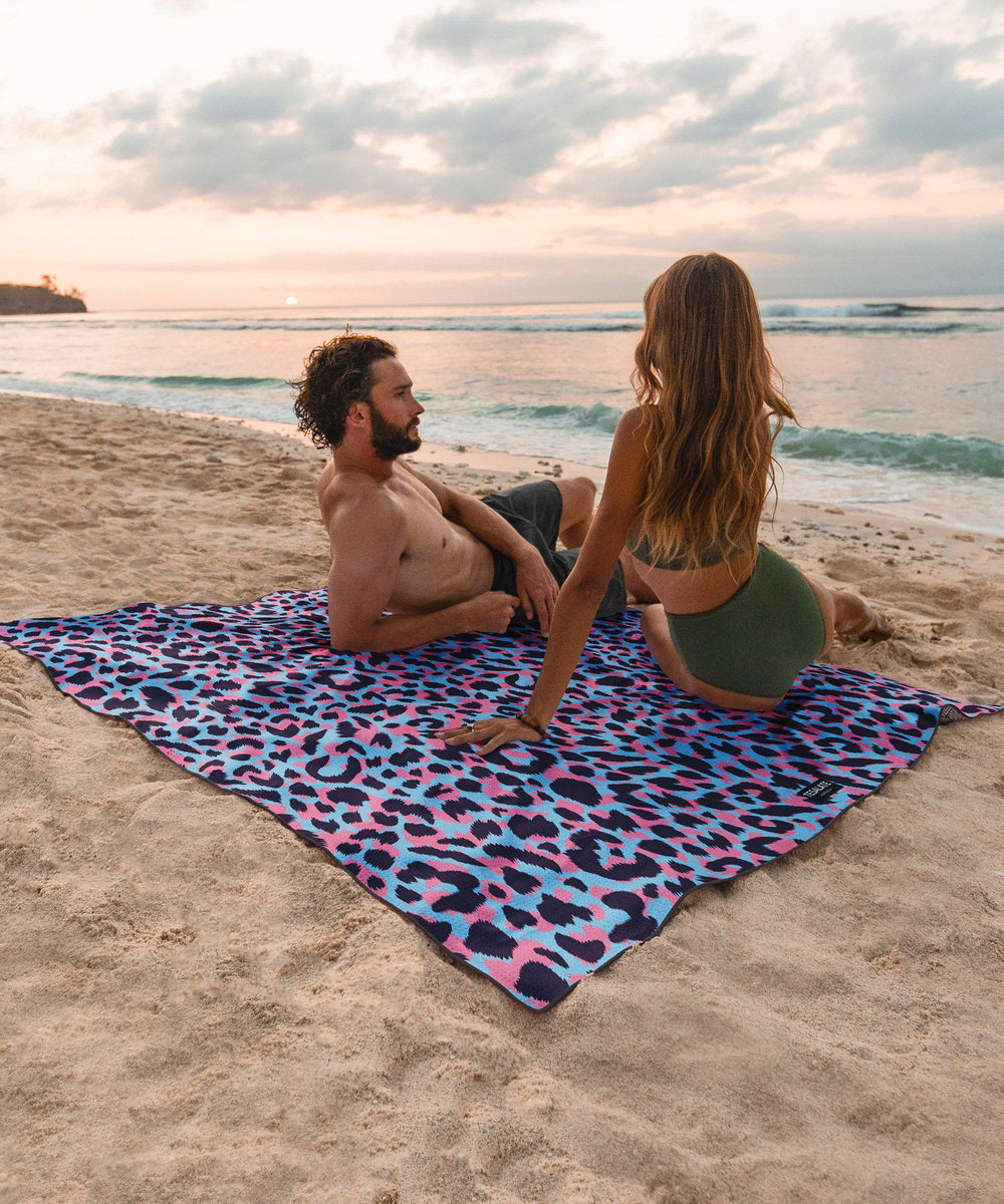 Wild Ones - Pink/Blue - Towel for Two-Beach-Towel