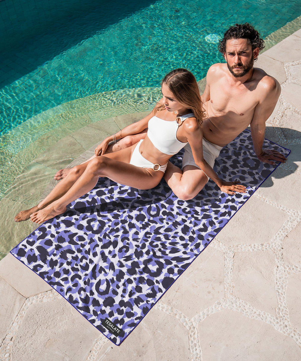 Wild Ones - Purple-Beach-Towel