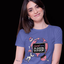 Earth's Closed T-shirt