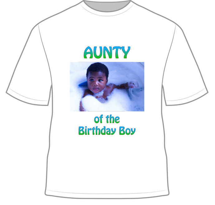 Alvin's Birthday Shirt
