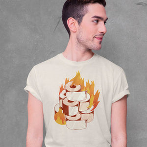 Burning Toilet paper  T-shirt