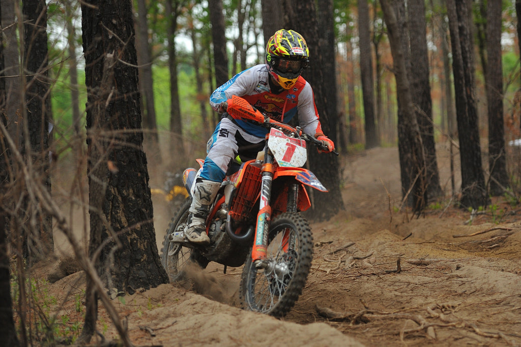 RUSSELL AND BAYLOR FINISH 1-3 AT ROUND 5 OF THE GNCC SERIES IN SOUTH CAROLINA