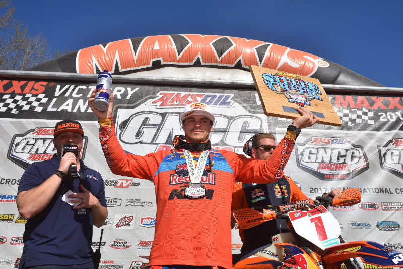 KAILUB RUSSELL CAPTURES HIS 43RD CAREER VICTORY AT THE STEELE CREEK GNCC
