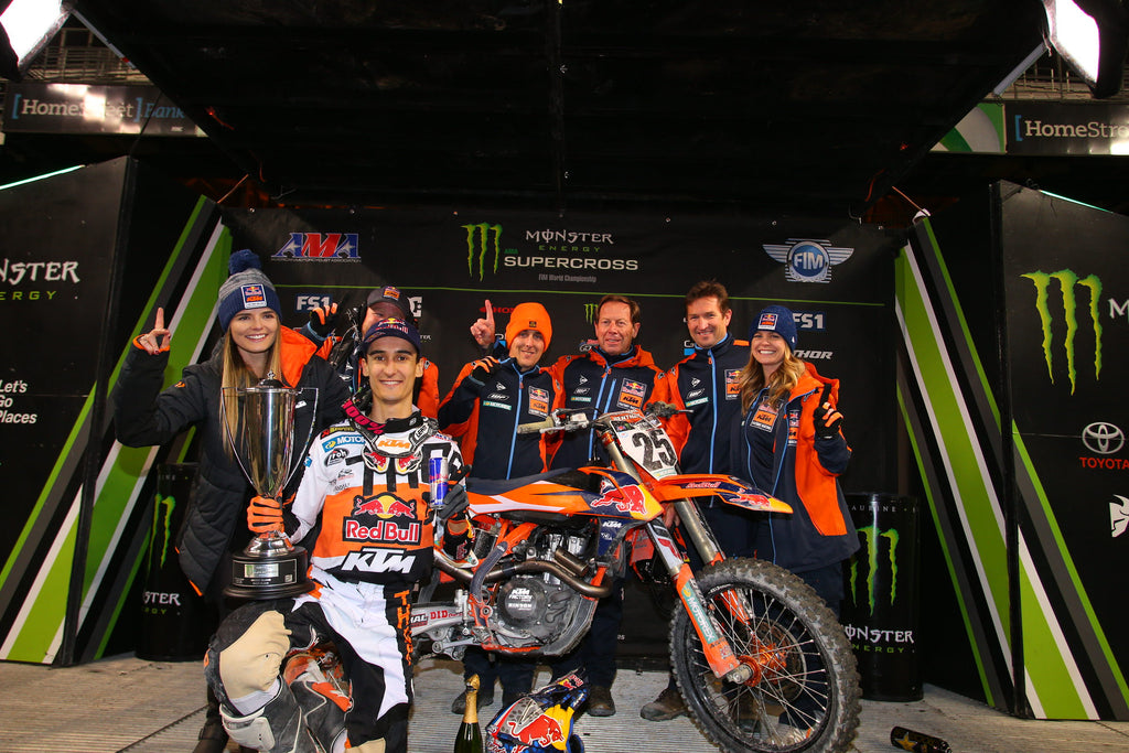 MARVIN MUSQUIN EARNS HIS 2ND VICTORY OF THE SEASON AT THE SEATTLE SX