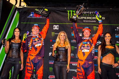 Supercross Salt Lake City Podium 2017